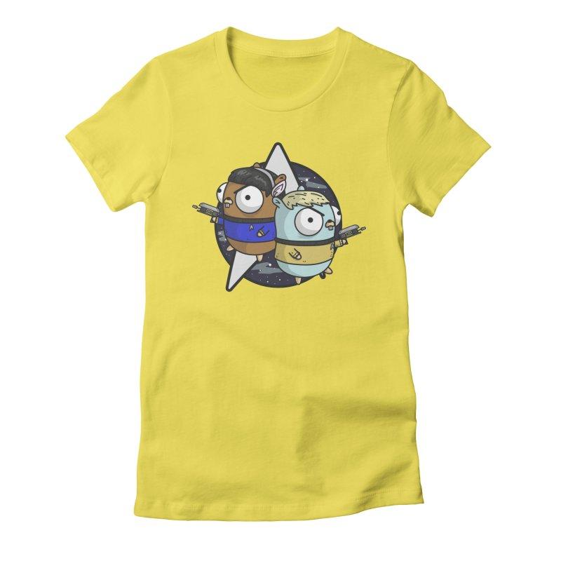 Star Gophers Women's T-Shirt by Women Who Go