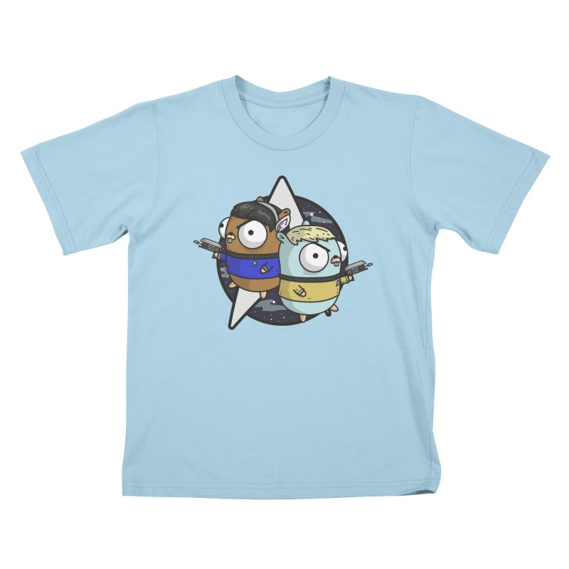 Star Gophers Kids T-Shirt by Women Who Go