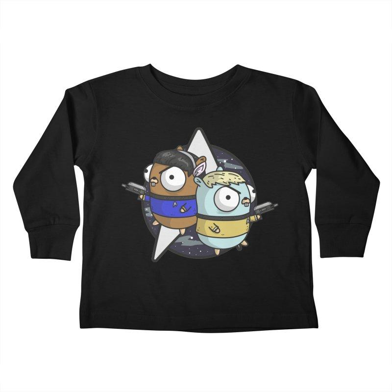 Star Gophers Kids Toddler Longsleeve T-Shirt by Women Who Go