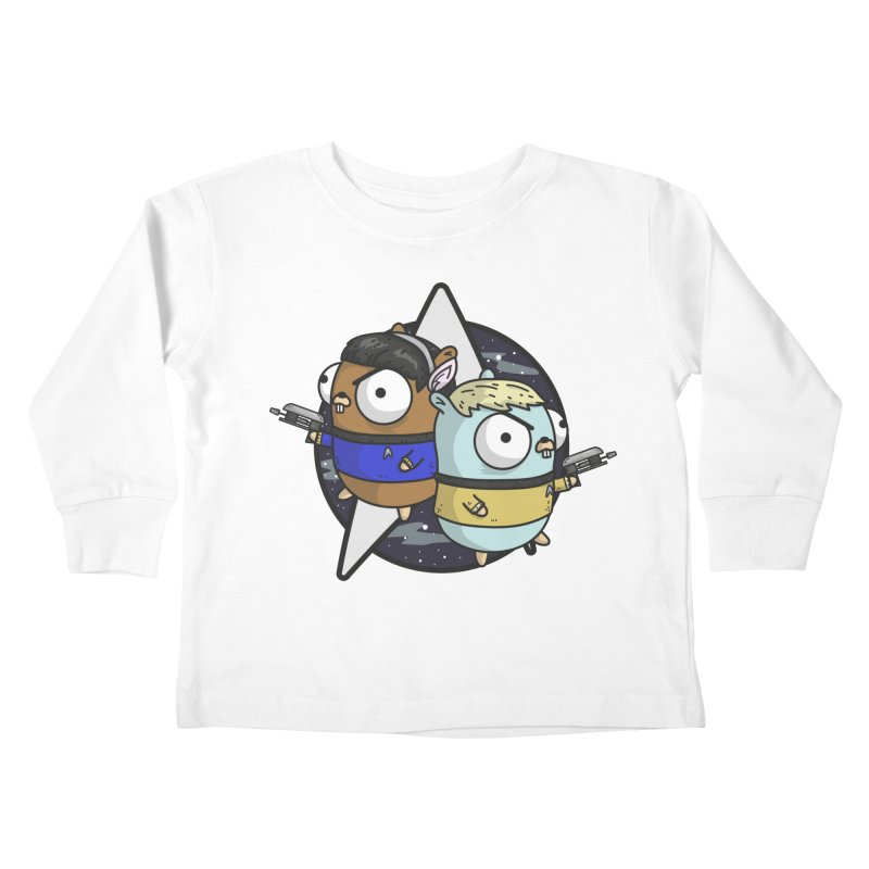 Star Gophers Kids Toddler Longsleeve T-Shirt by Women Who Go