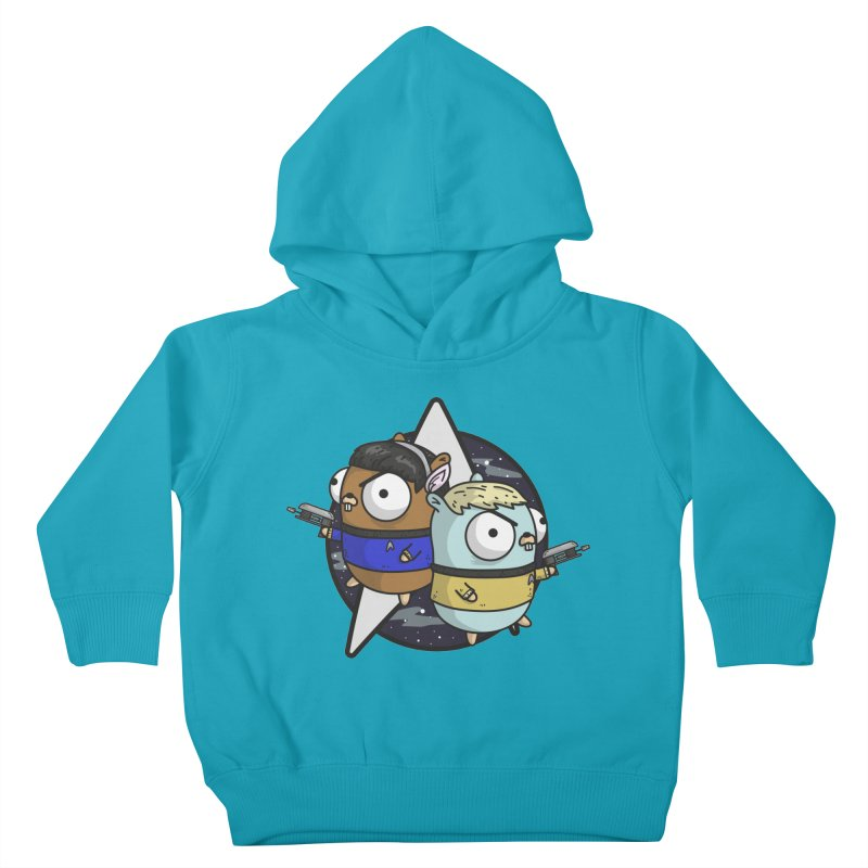 Star Gophers Kids Toddler Pullover Hoody by Women Who Go