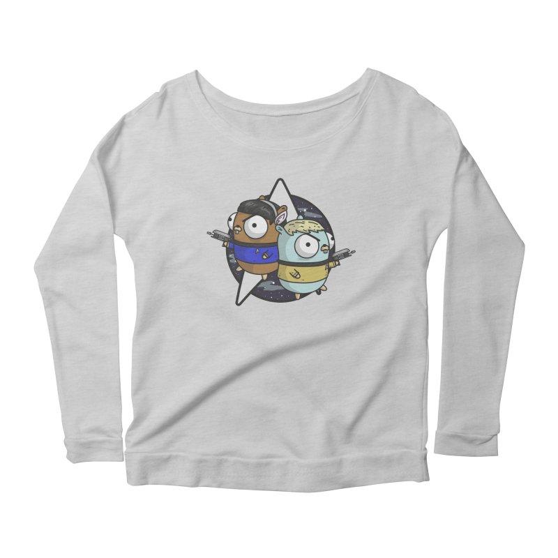 Star Gophers Women's Scoop Neck Longsleeve T-Shirt by Women Who Go