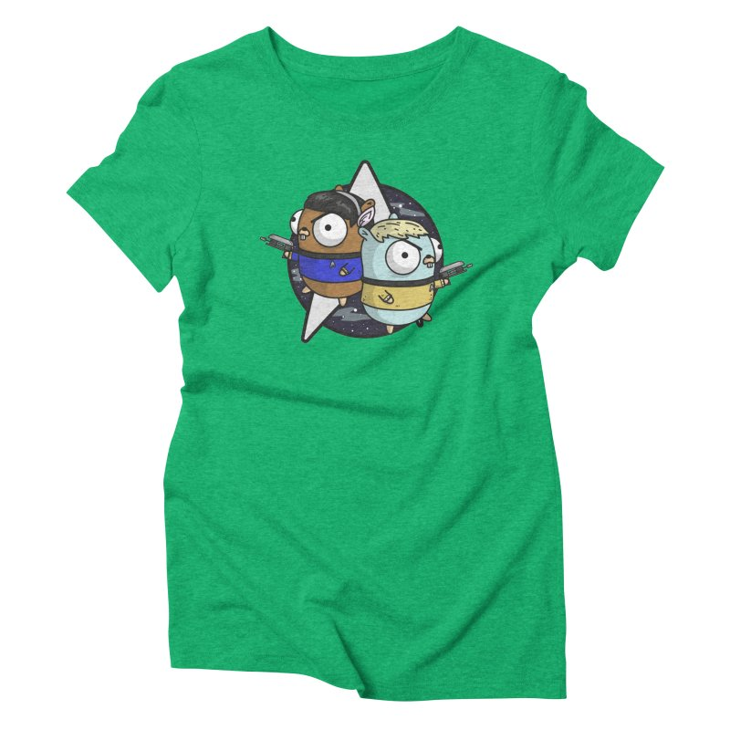 Star Gophers Women's Triblend T-Shirt by Women Who Go