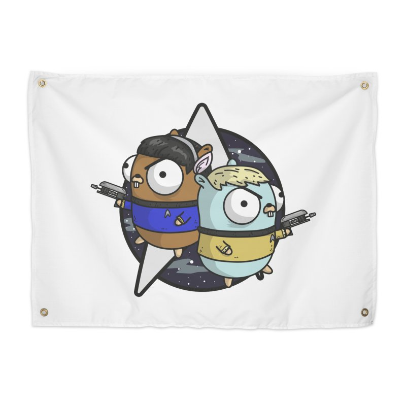 Star Gophers Home Tapestry by Women Who Go