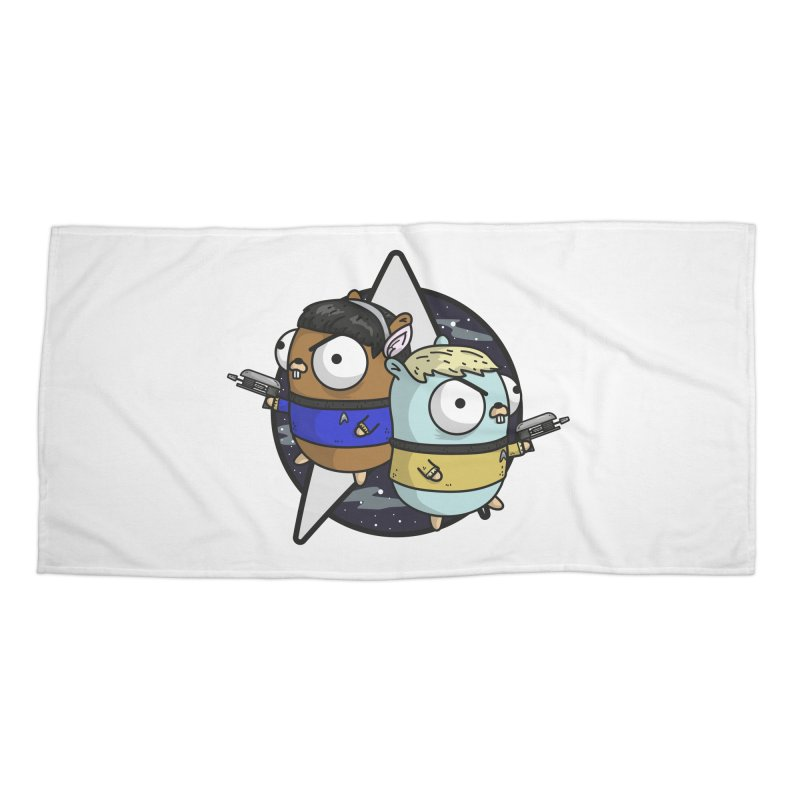 Star Gophers Accessories Beach Towel by Women Who Go