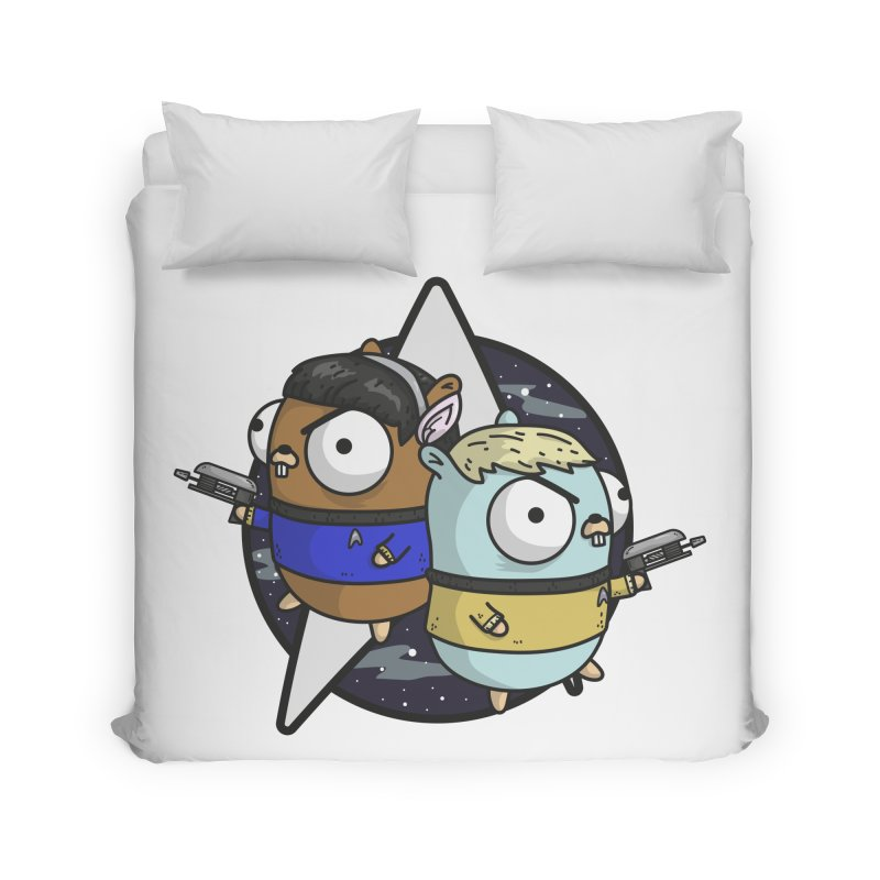 Star Gophers Home Duvet by Women Who Go
