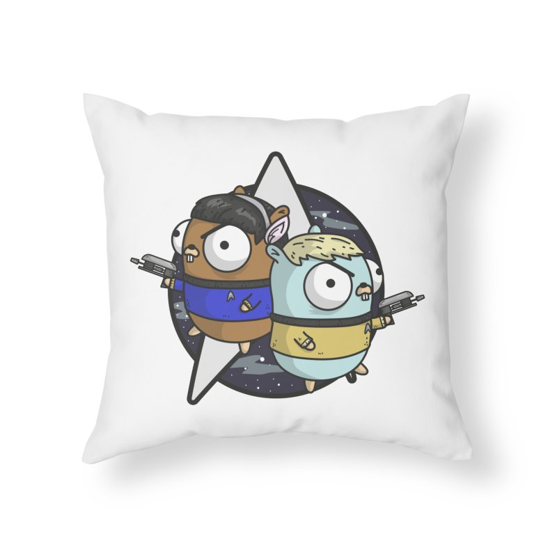 Star Gophers Home Throw Pillow by Women Who Go