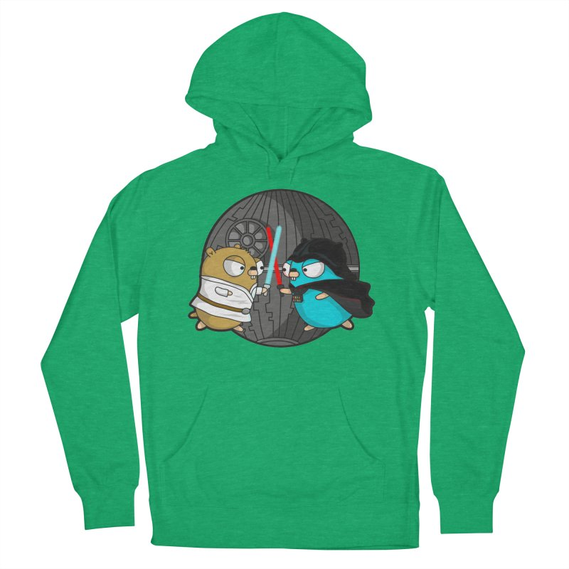 Gopher Wars Women's French Terry Pullover Hoody by Women Who Go