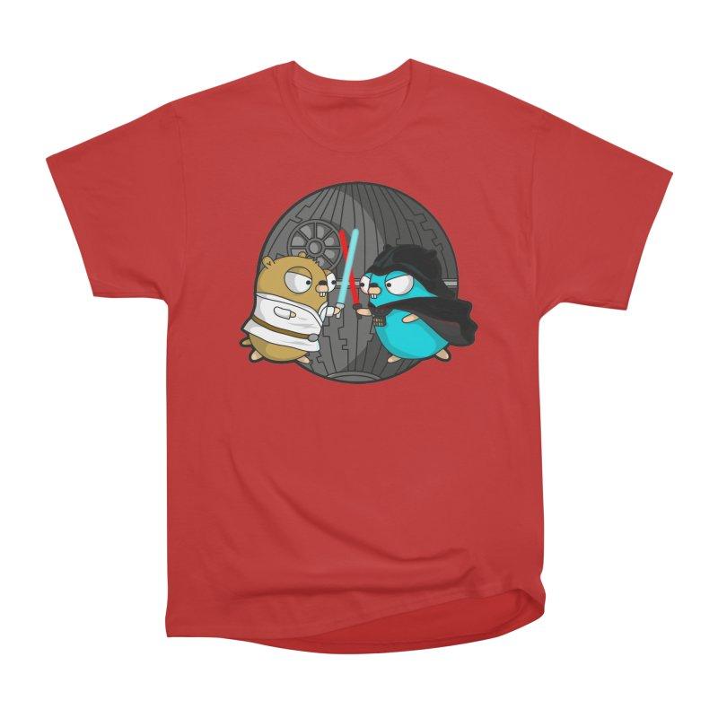 Gopher Wars Men's Heavyweight T-Shirt by Women Who Go