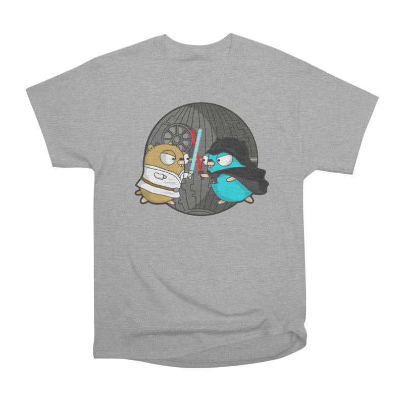 Gopher Wars Women's Heavyweight Unisex T-Shirt by Women Who Go
