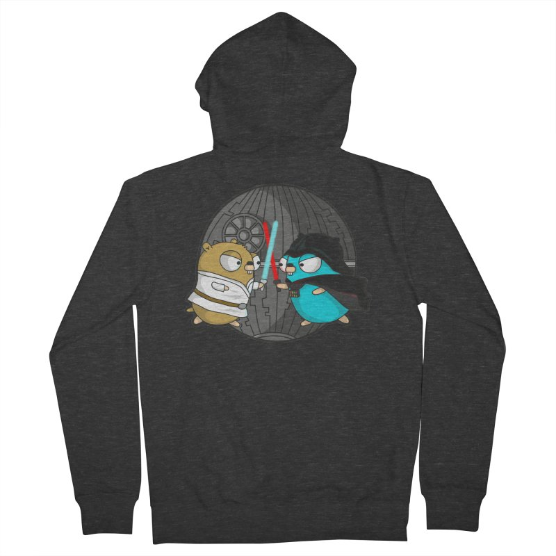 Gopher Wars Men's French Terry Zip-Up Hoody by Women Who Go