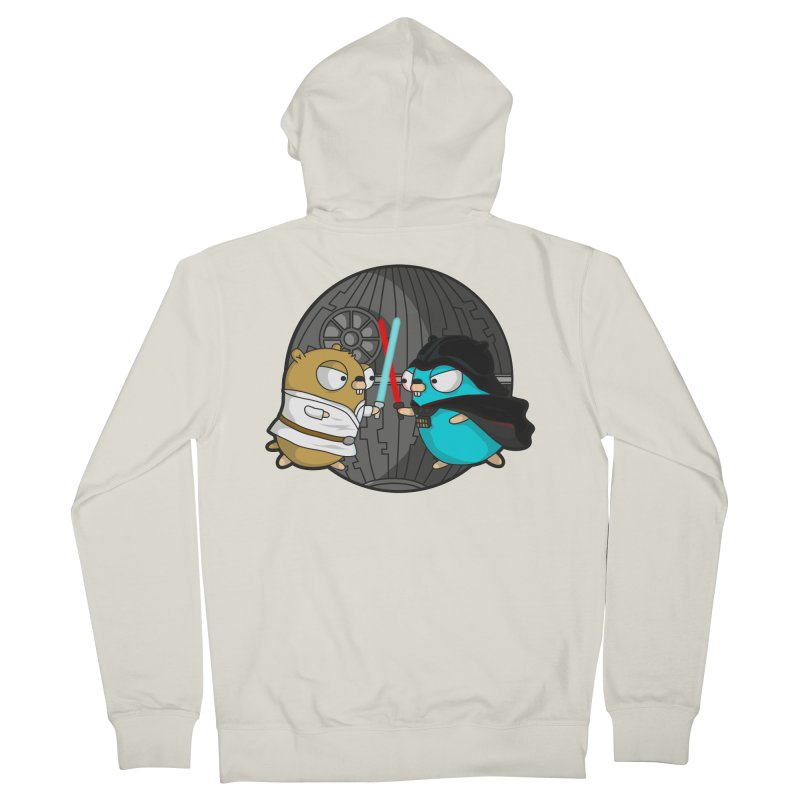 Gopher Wars Men's Zip-Up Hoody by Women Who Go