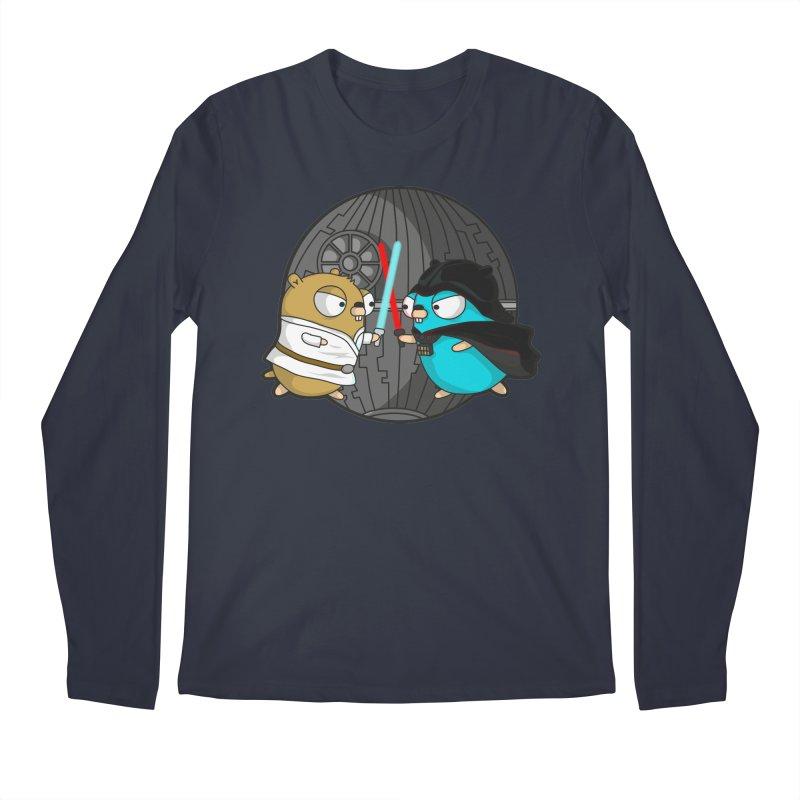 Gopher Wars Men's Regular Longsleeve T-Shirt by Women Who Go