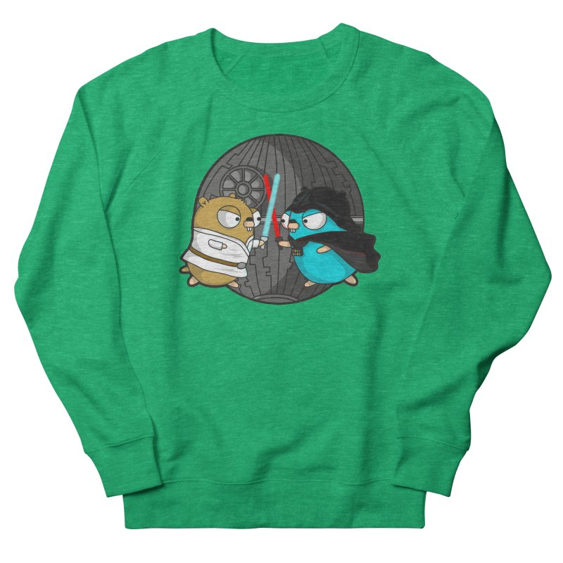 Gopher Wars Men's French Terry Sweatshirt by Women Who Go