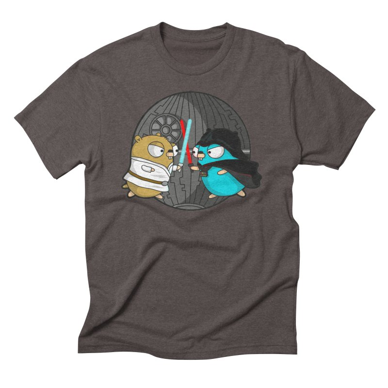 Gopher Wars Men's Triblend T-Shirt by Women Who Go
