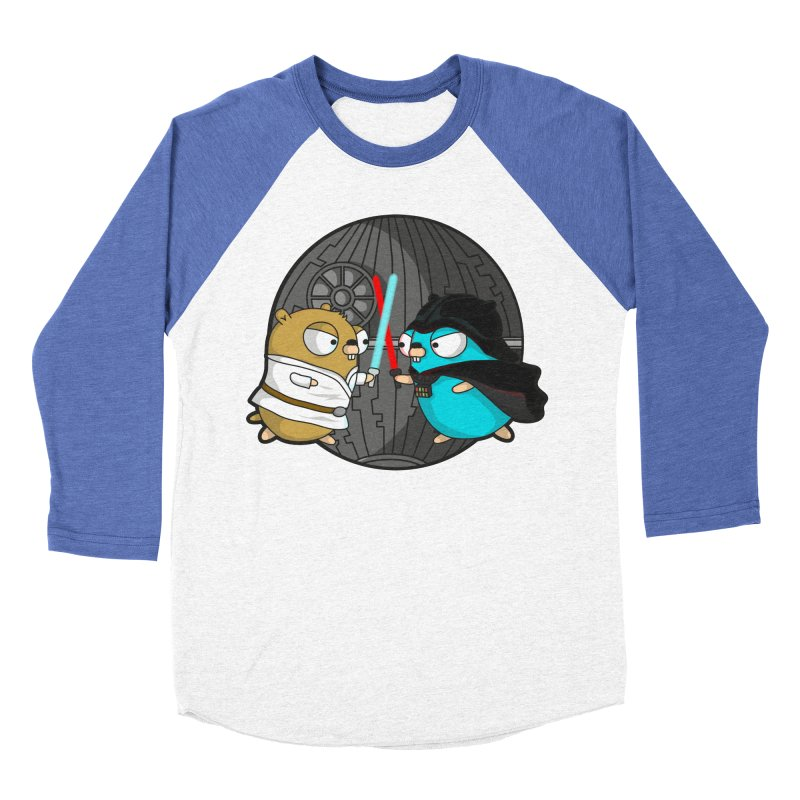 Gopher Wars Women's Baseball Triblend Longsleeve T-Shirt by Women Who Go