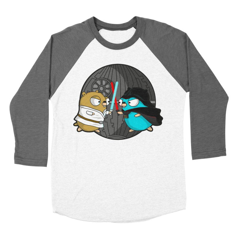 Gopher Wars Men's Baseball Triblend Longsleeve T-Shirt by Women Who Go