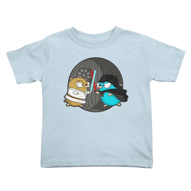 Gopher Wars Kids Toddler T-Shirt by Women Who Go