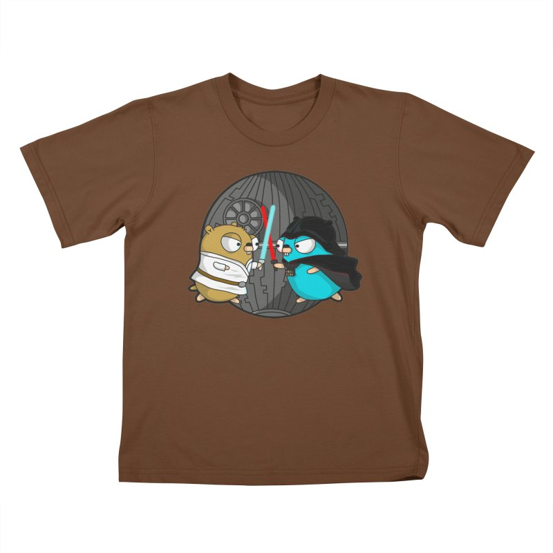 Gopher Wars Kids T-Shirt by Women Who Go