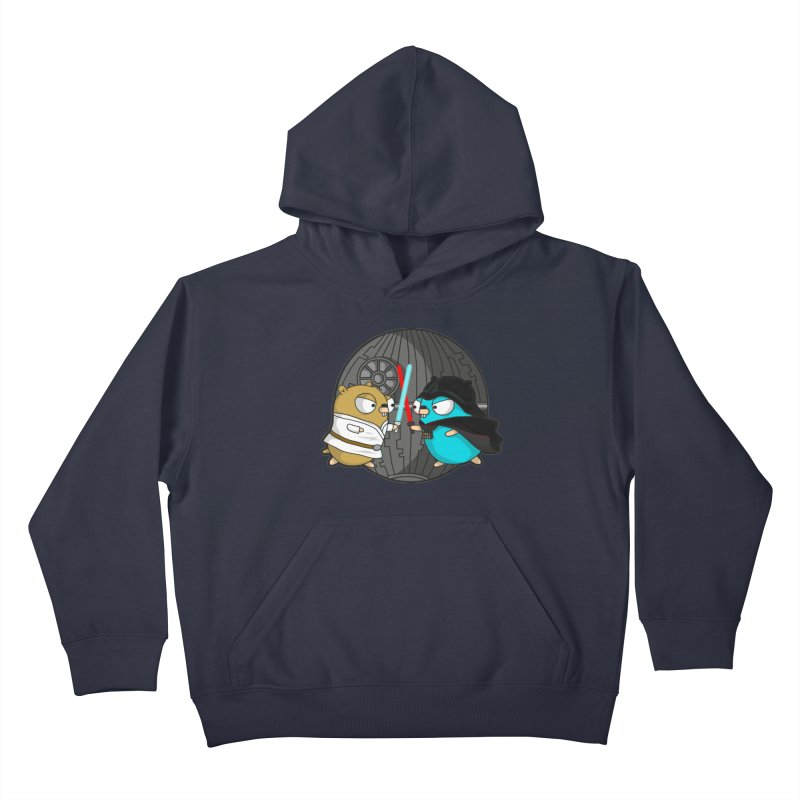 Gopher Wars Kids Pullover Hoody by Women Who Go