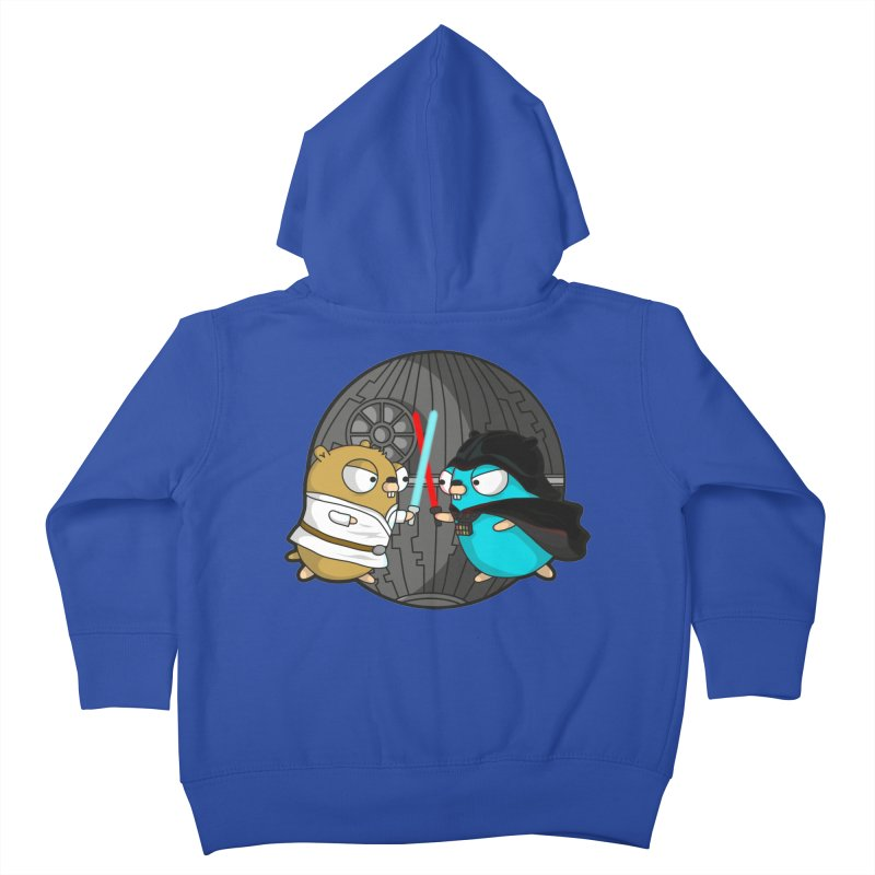 Gopher Wars Kids Toddler Zip-Up Hoody by Women Who Go