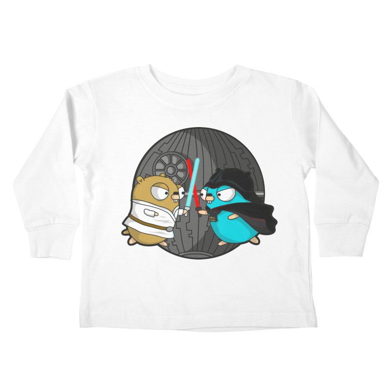 Gopher Wars Kids Toddler Longsleeve T-Shirt by Women Who Go