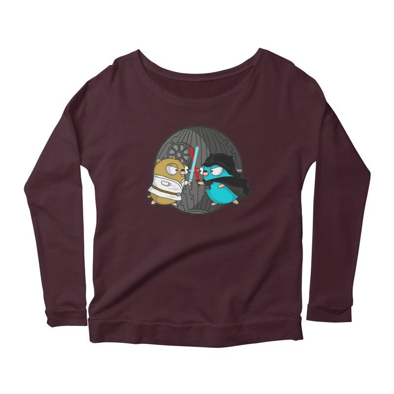 Gopher Wars Women's Scoop Neck Longsleeve T-Shirt by Women Who Go