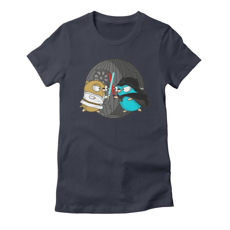 Gopher Wars Women's Fitted T-Shirt by Women Who Go