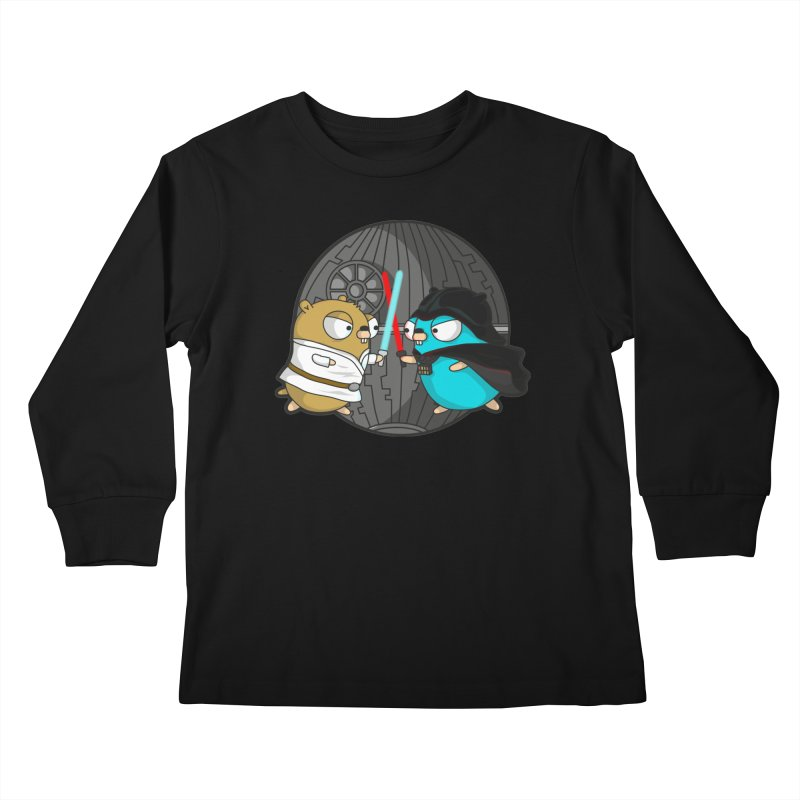 Gopher Wars Kids Longsleeve T-Shirt by Women Who Go