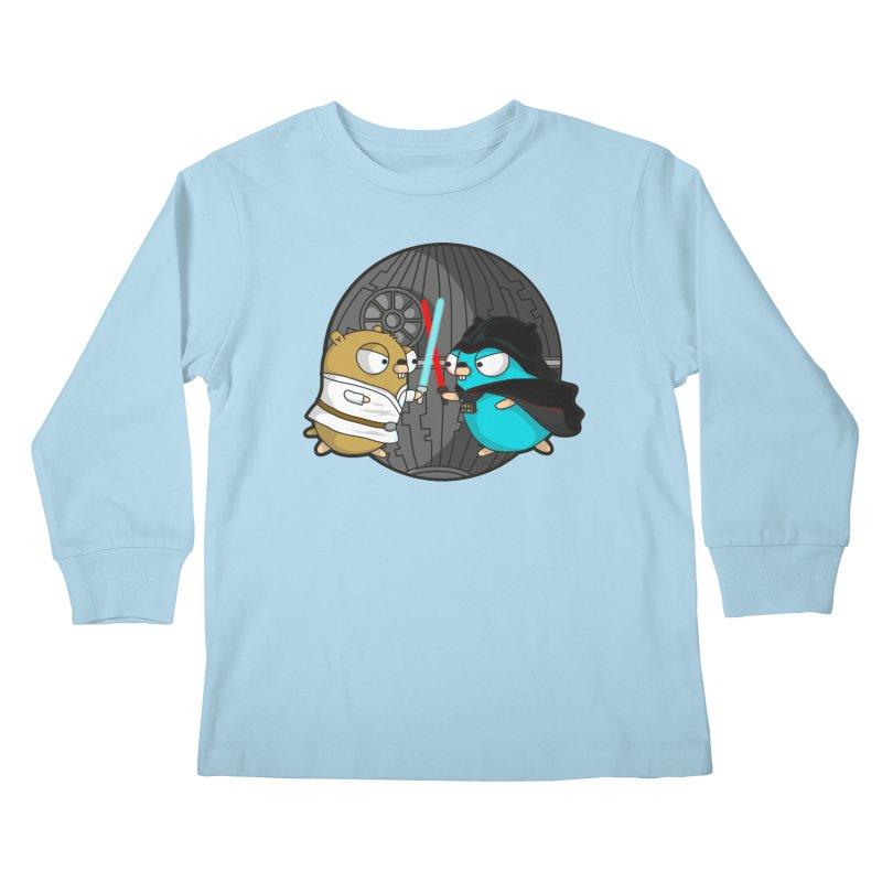 Gopher Wars Kids Longsleeve T-Shirt by Women Who Go