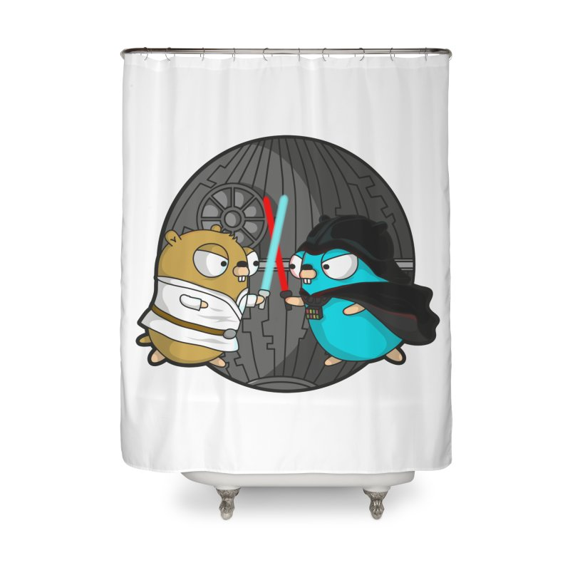 Gopher Wars Home Shower Curtain by Women Who Go