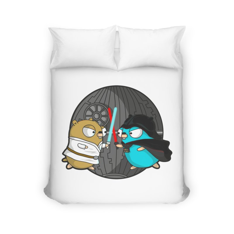 Gopher Wars Home Duvet by Women Who Go