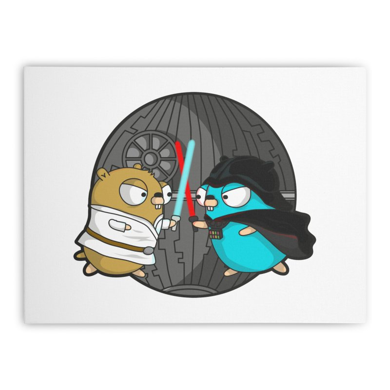 Gopher Wars Home Stretched Canvas by Women Who Go