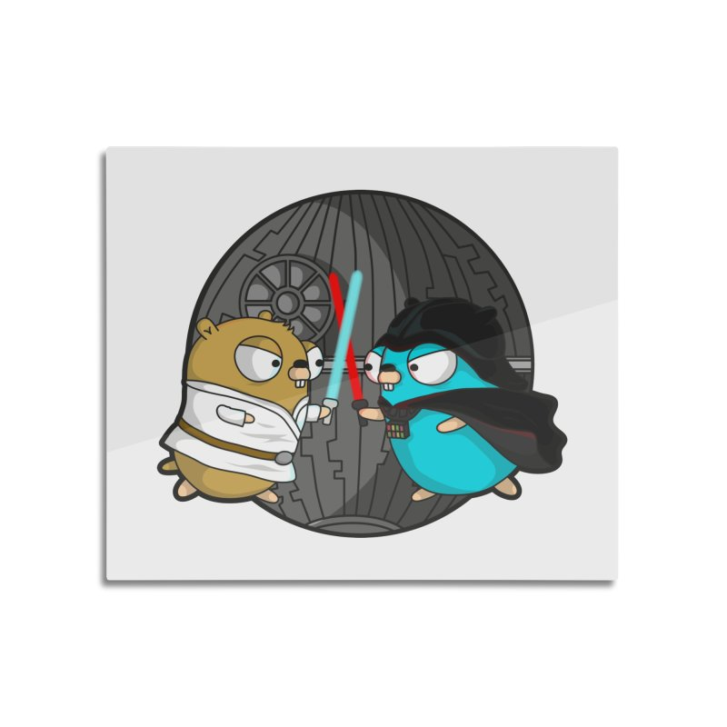Gopher Wars Home Mounted Aluminum Print by Women Who Go