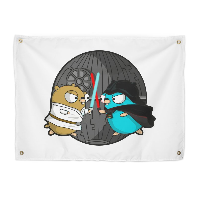 Gopher Wars Home Tapestry by Women Who Go