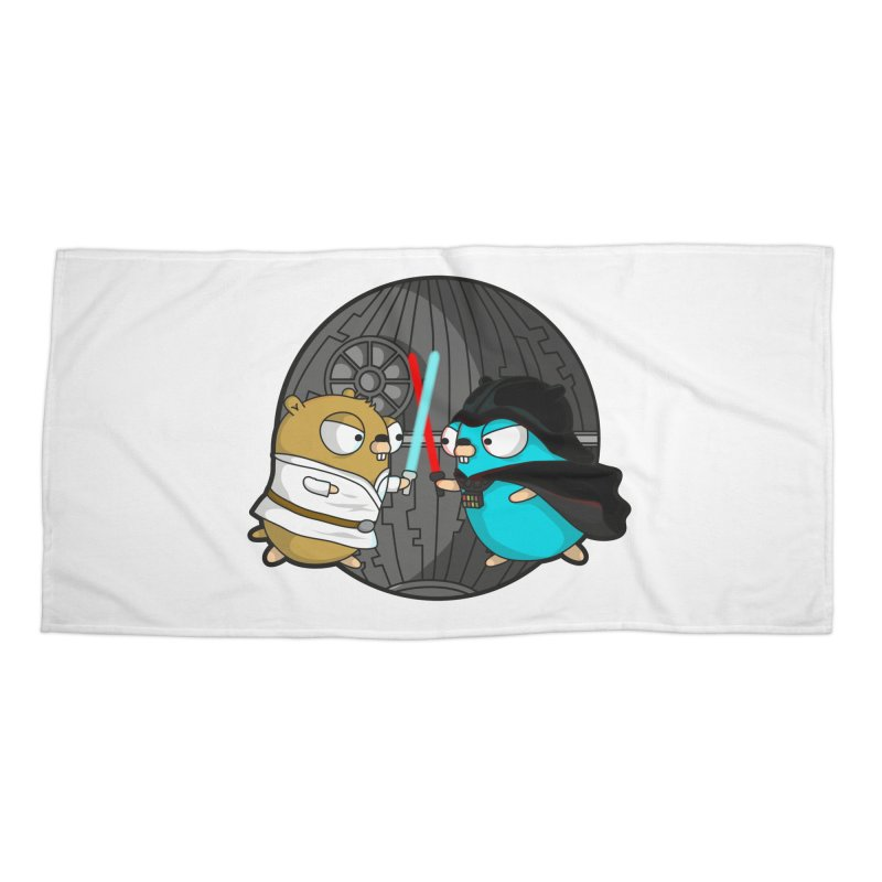 Gopher Wars Accessories Beach Towel by Women Who Go