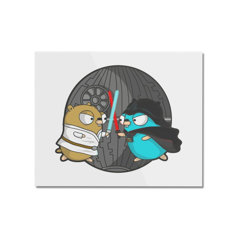 Gopher Wars Home Mounted Acrylic Print by Women Who Go