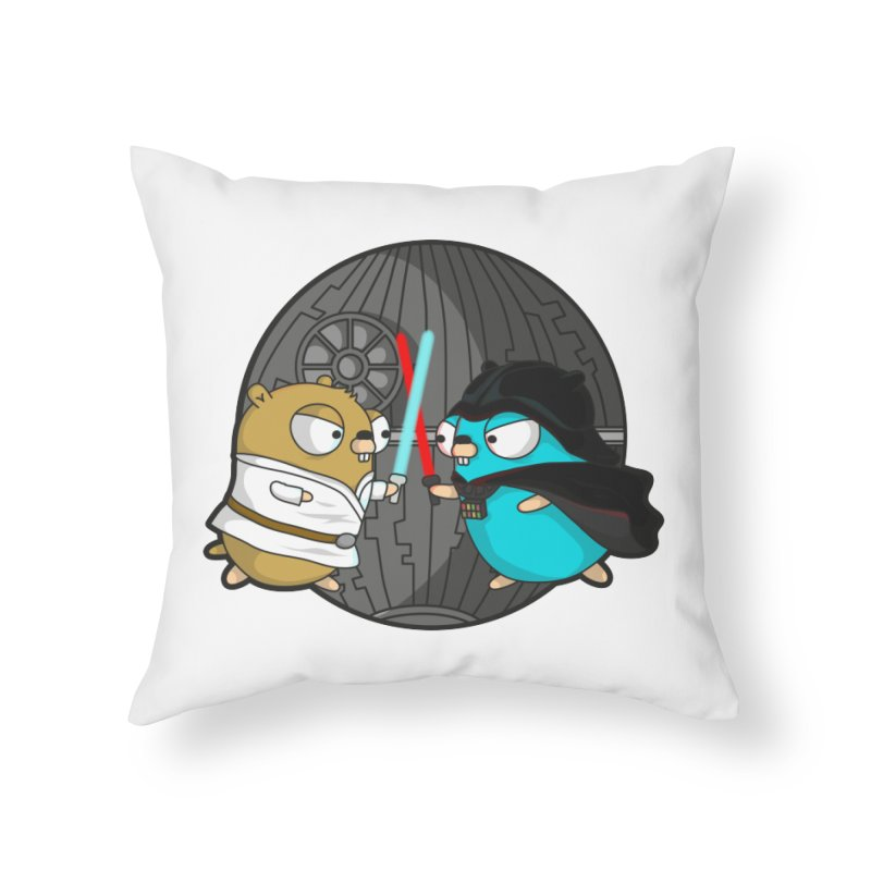 Gopher Wars Home Throw Pillow by Women Who Go