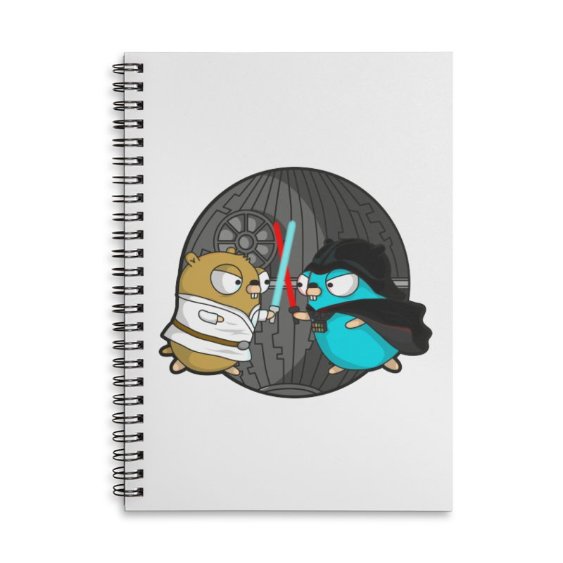 Gopher Wars Accessories Lined Spiral Notebook by Women Who Go