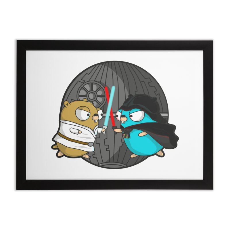 Gopher Wars Home Framed Fine Art Print by Women Who Go