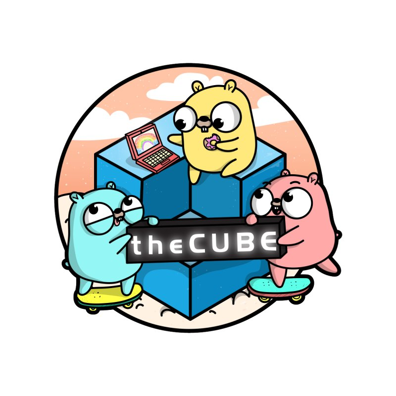 The Cube Accessories Sticker by Women Who Go