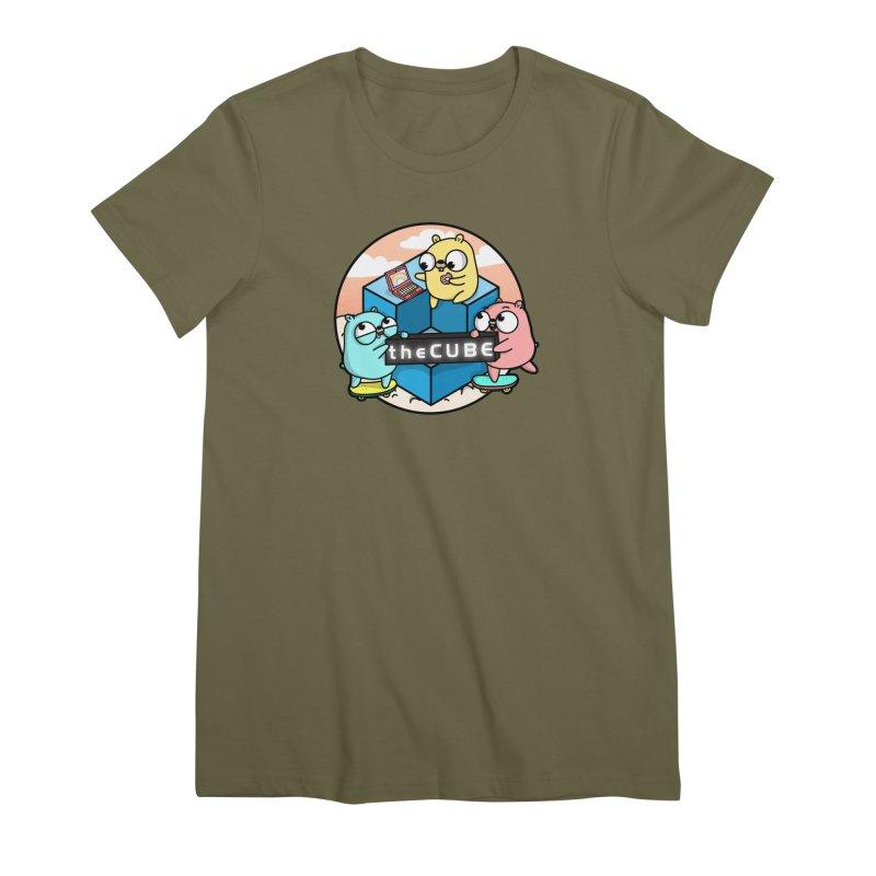 The Cube Women's Premium T-Shirt by Women Who Go