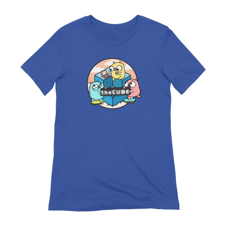 The Cube Women's Extra Soft T-Shirt by Women Who Go
