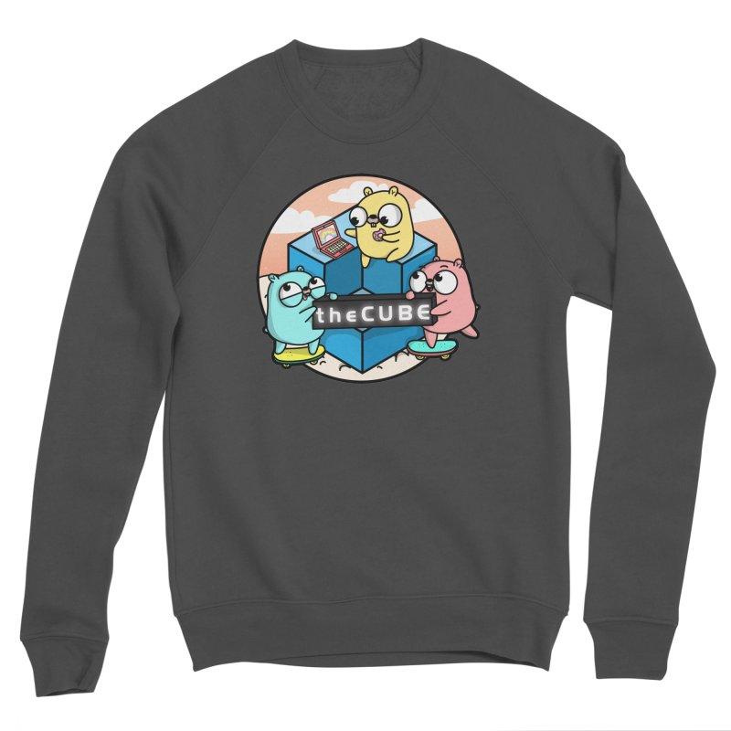 The Cube Women's Sponge Fleece Sweatshirt by Women Who Go