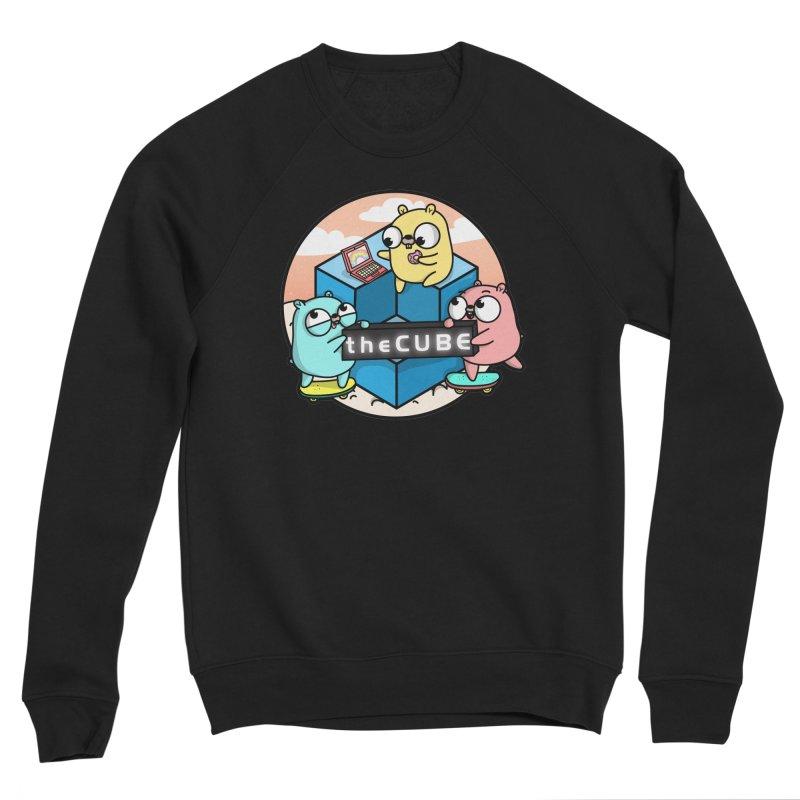 The Cube Men's Sponge Fleece Sweatshirt by Women Who Go