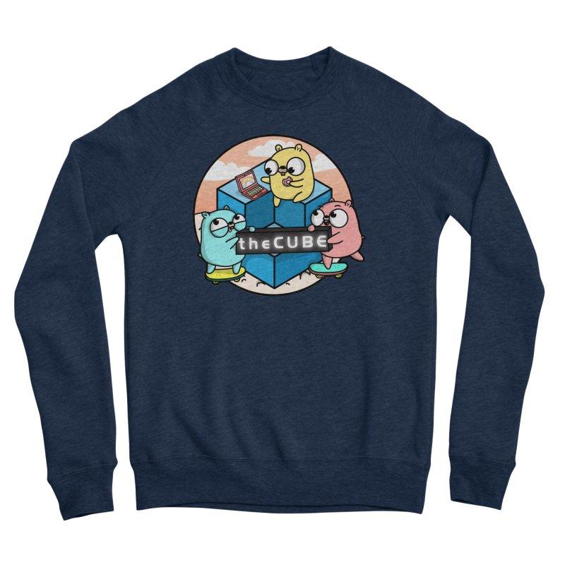 The Cube Men's Sweatshirt by Women Who Go
