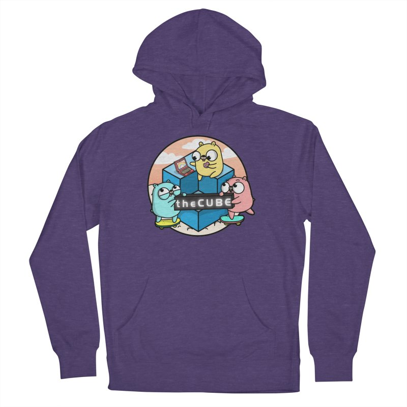 The Cube Women's French Terry Pullover Hoody by Women Who Go