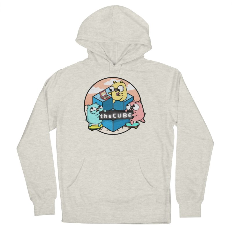 The Cube Men's French Terry Pullover Hoody by Women Who Go