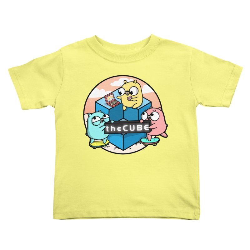 The Cube Kids Toddler T-Shirt by Women Who Go