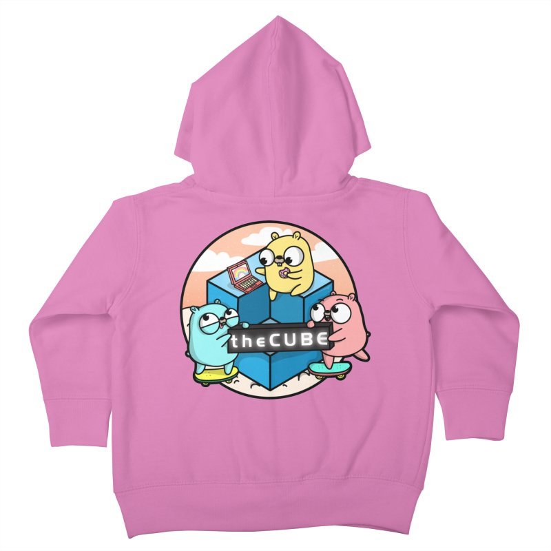 The Cube Kids Toddler Zip-Up Hoody by Women Who Go